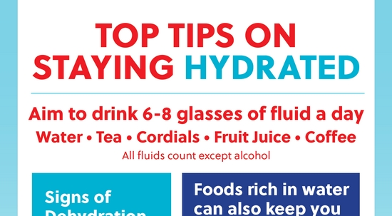 Top Tips: Stay Hydrated