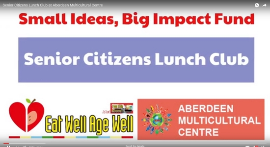 Senior Citizens Lunch Club @ Aberdeen Multicultural Centre