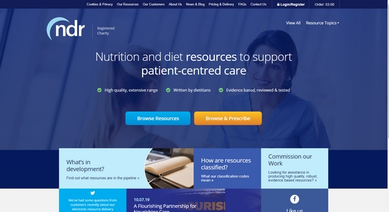 Nutrition and Diet Resources UK