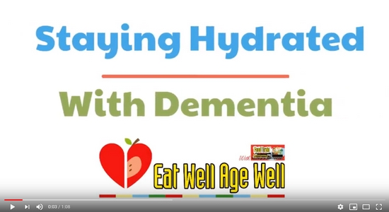 Staying Hydrated with Dementia